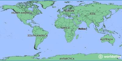 Malediven Karte Weltkarte.Malediven Map Karten Malediven Süd Asien Asia